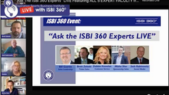 """The ISBI 360 Experts""""; LIVE  Featuring ALL 5 EXPERT FACULTY from the ISBI 360 Digital Learning Network"""