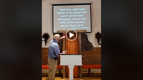 Facebook Live Worship: Jesus Is Our Passover Lamb