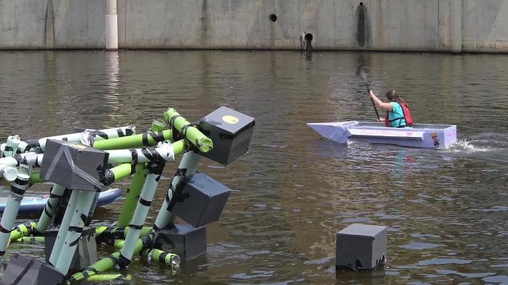 2018 Lake Anne Cardboard Boat Regatta-2