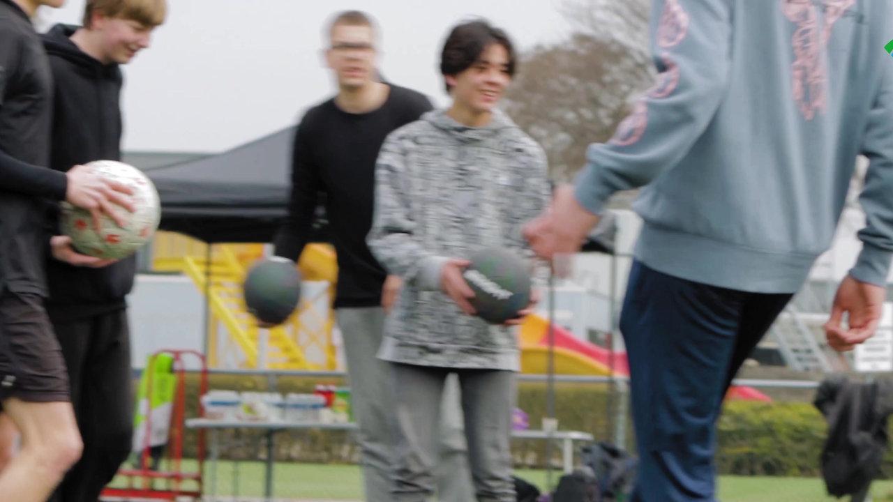 Freestyle Voetbal Training Sportstichting Zuidplas