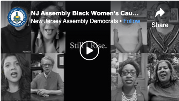 NJ Assembly Black Women's Caucus: Still I rise