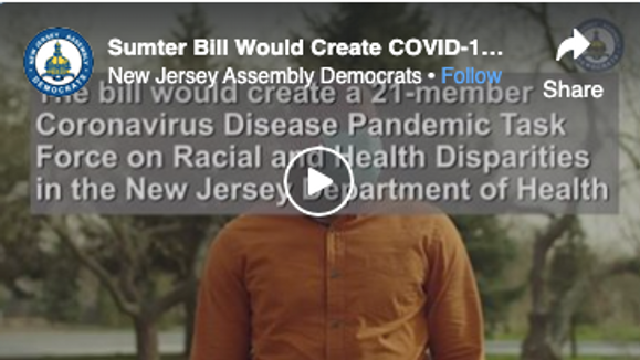 Sumter Bill Would Create COVID-19 Pandemic Task Force