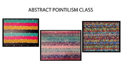 Class 1 - Abstract Pointillism