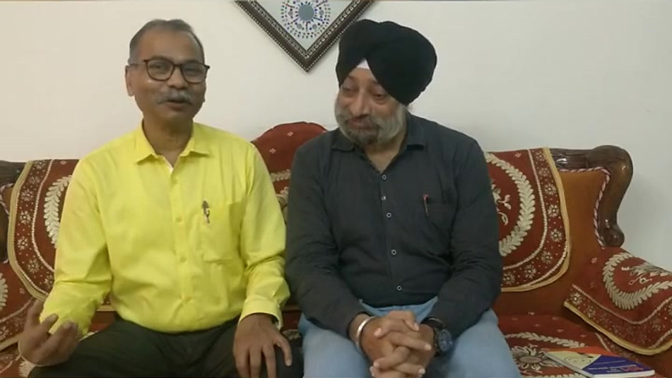Interview 1 by Prof Kulvinder Singh