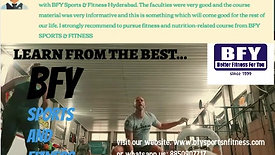 Certified Courses In Sports & Fitness