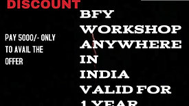 50% Off On All BFY Workshops For One Year