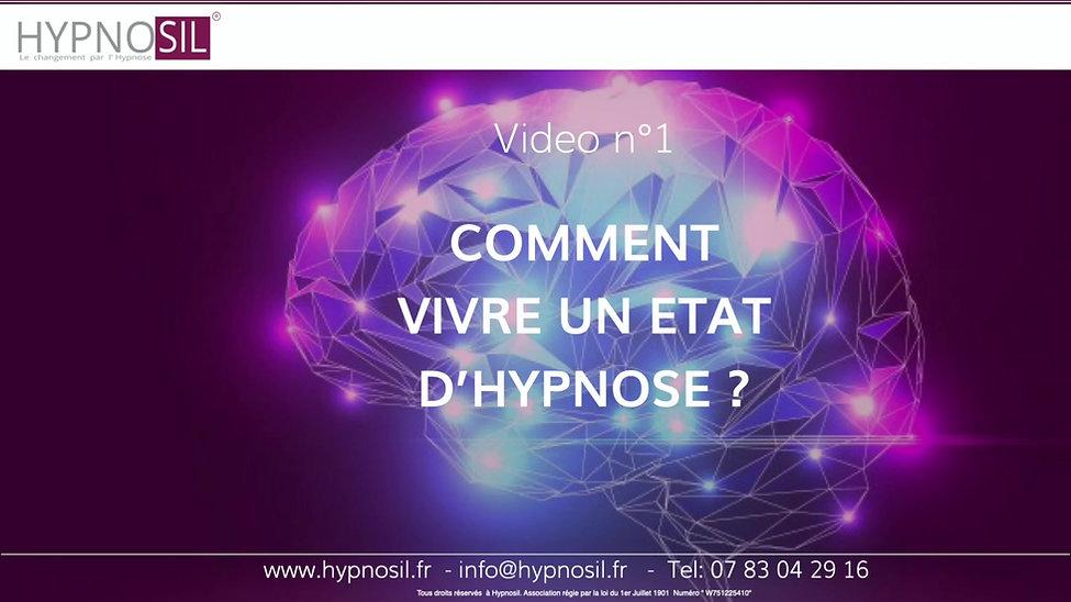 Comment vivre un état d'hypnose?