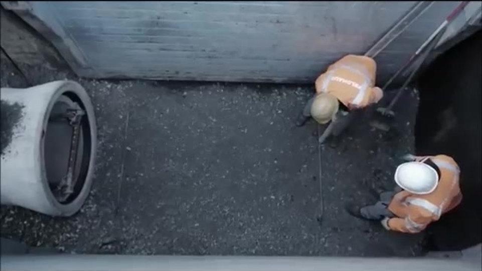 Bermac: Instalación de tubos.