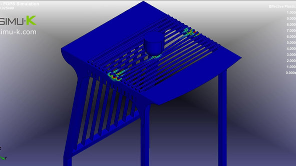 LS-Dyna - Simulation FOPS