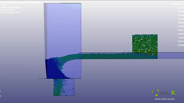 LS-Dyna - Impact de chute
