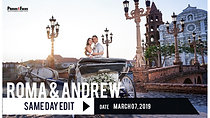 Roma & Andrew   Same Day Edit by Phases and Faces Digital Photography