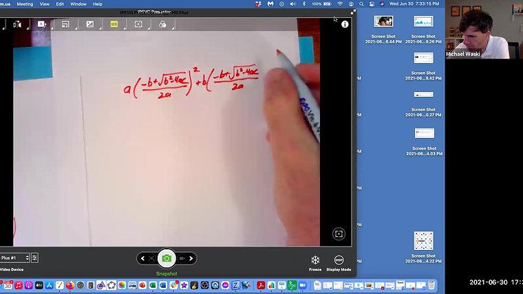 Equations 2021 Workshop