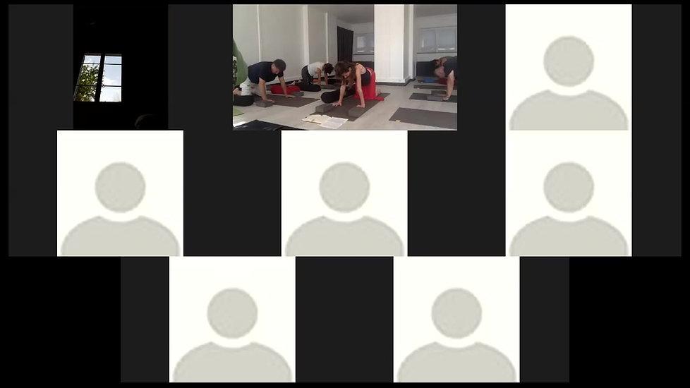 Cours de Yin Yoga - Haut du dos