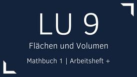 Mathbuch 1 – LU 9 – Flächen und Volumen