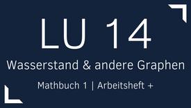 Mathbuch 1 – LU 14 – Wasserstand und andere Graphen