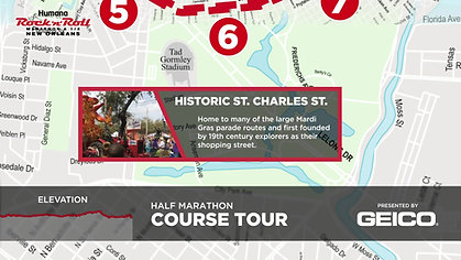 Geico Course Tour, New Orleans