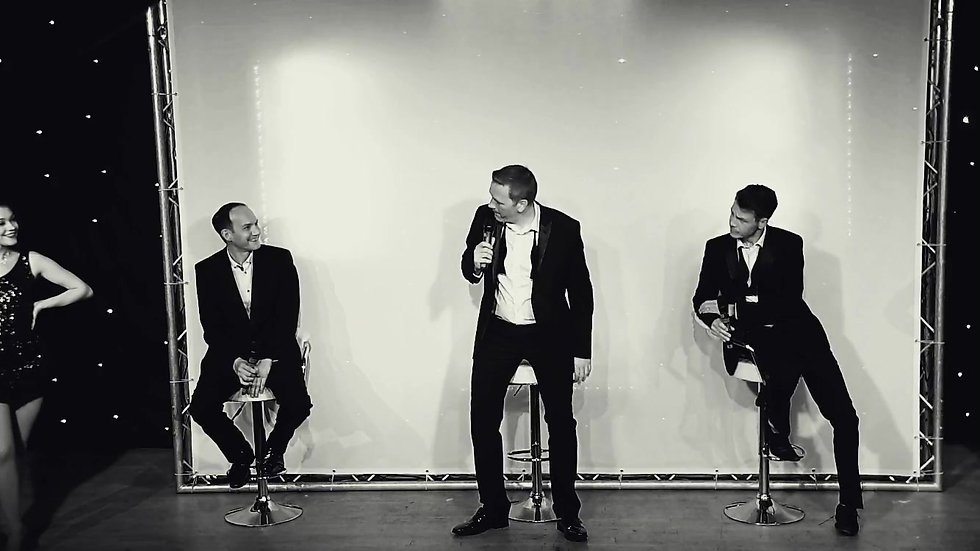 The Pocket Playhouse - Rat Pack Tribute Show Promo