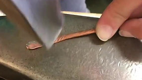 Forging Feather Detail