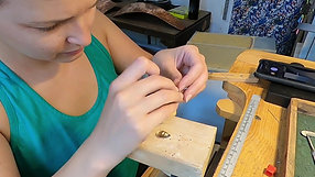 Making Gold Scales Dangles