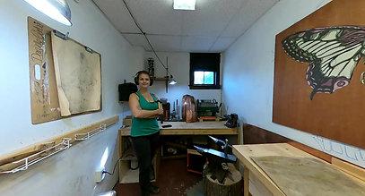 Take a tour of my metal forming studio