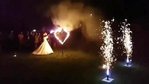 Flammenspiel Feuershow