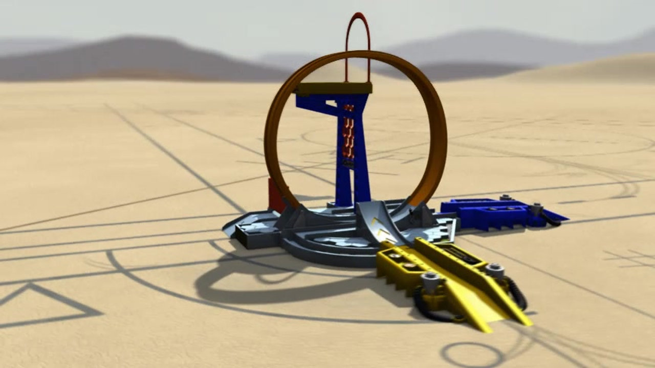 Stuntsters Toys Hot Wheels