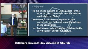 Hillsboro SDA Worship 3/13/2021