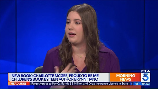 KTLA Interview - Charlotte McGee, Proud to be Me