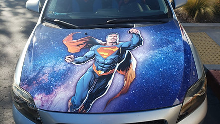 Hood Wrap: Superman Graphics