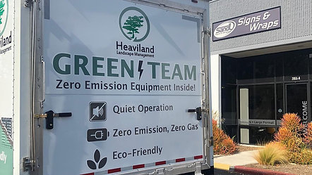 Fleet Wraps: Heaviland Landscaping