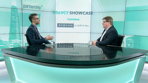 Interview with Kealan Doyle from Symvan Capital at the London EIS & VCT Showcase for Advisers & Wealth Managers