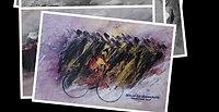 Biciclette in 18 x 24