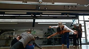 Dansen in tijdens mijn workshop in Freiburg