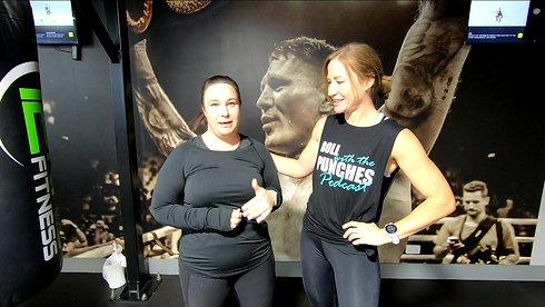 Boxing Workshop Vickie Testimonial