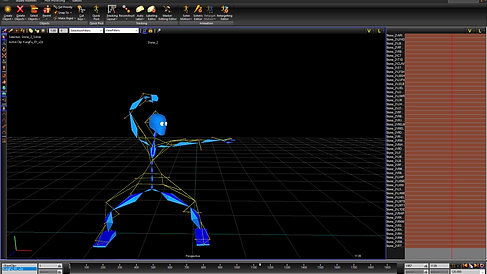 MoCap from Blade to MotionBuilder