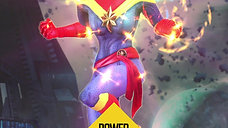 Trading Card - Captain Marvel