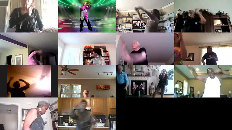 Zoom Dance Fitness Disco