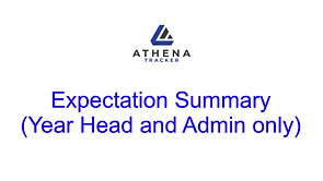 Expectation Summary