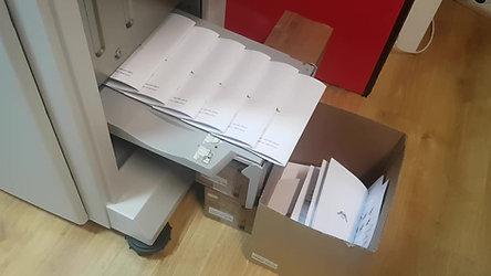 """Impressão de Booklets para a empresa """"Associação Naval de Lisboa"""""""