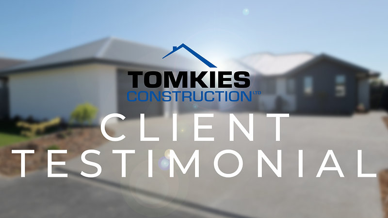 Tomkies Construction - Petries Testimonial