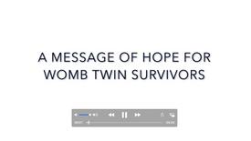 TWINDIVIDUAL: hope + encouragement
