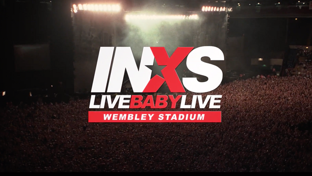 INXS Live Baby Live At Wembley Stadium