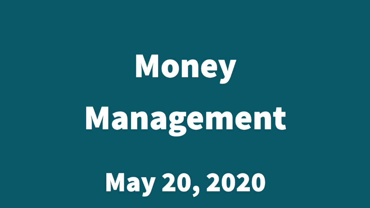 Wise Money Management Concepts