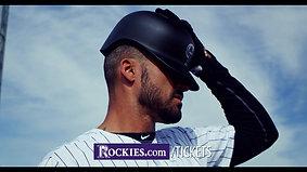 """Colorado Rockies """"Vs Cubs Series"""""""