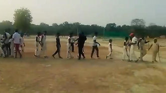 Aazaad Sports Club Won Cricket Match At Megastar Maharishi Aazaad Stadium, Suriyawan | INDIA