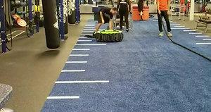 Crunch Tire Workout