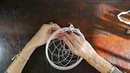 How to DIY Dream Catcher Kit Step 2/3 - The Freedom to Dream