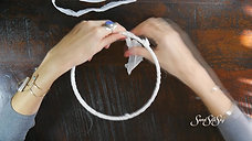 How to DIY Dream Catcher Kit - Step 1 - The Freedom to Dream