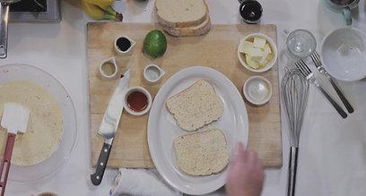 French Toast & Vanilla Banana Jam