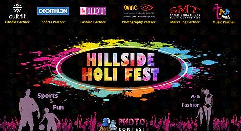 Holi Event Social Media Ad